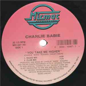 Charlie Babie - You Take Me Higher mp3 play