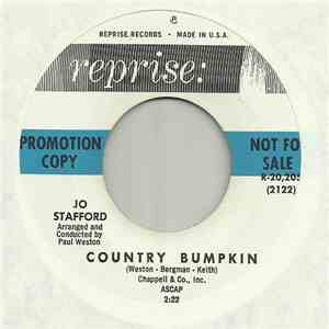 Jo Stafford - The Writing On The Wall / Country Bumpkin mp3 play