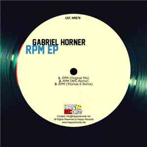 Gabriel Horner - RPM EP mp3 play