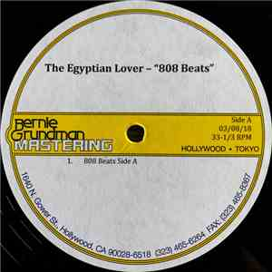 The Egyptian Lover - 808 Beats Volume 1 mp3 play