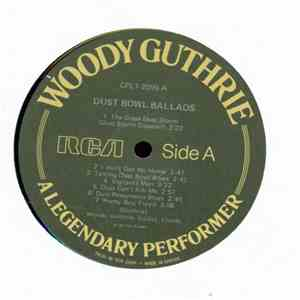 Woody Guthrie - A Legendary Performer mp3 play