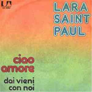 Lara Saint Paul - Ciao Amore mp3 play