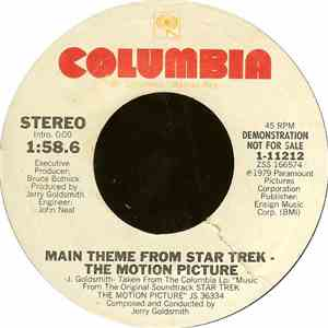 Jerry Goldsmith - Main Theme From Star Trek - The Motion Picture mp3 play