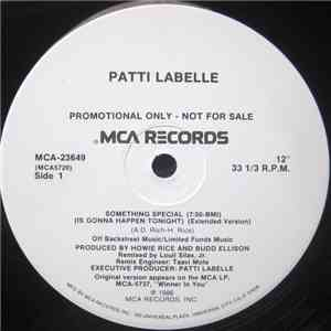 Patti LaBelle - Something Special (Is Gonna Happen Tonight) mp3 play