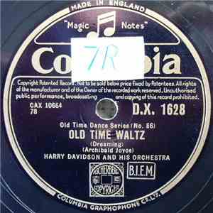 Harry Davidson And His Orchestra - Old Time Waltz / Gipsy Tango mp3 play